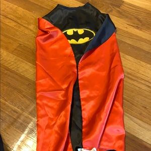 Reversible Batman/Supermán cape Childrens